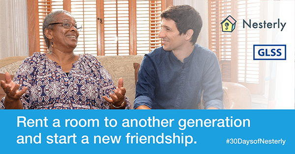 Rent a room to another generation and start a new friendship