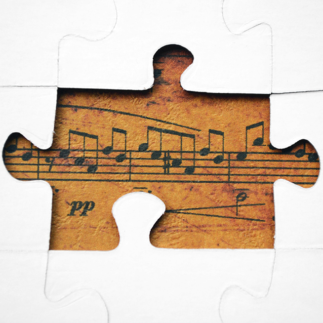 Music Speaks Puzzle Piece