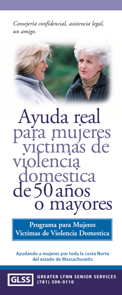 Women's and Family Abuse Program Brochure Spanish