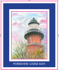 Pondview Lodge ADH Logo