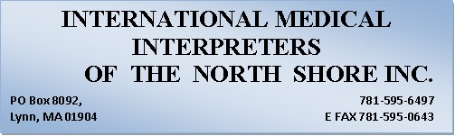 International Medical Interpreters of the North Shore, Inc. Logo